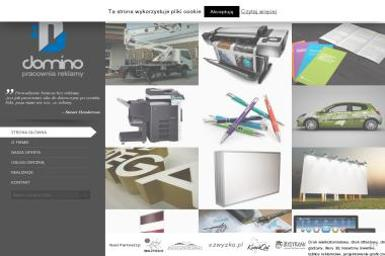 Pracownia Reklamy Domino - Drukowanie Etykiet Sanok