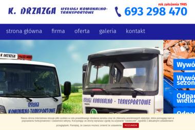 Usługi - Transportowe Ślusarsko-Instalacyjne Krzysztof Drzazga - Usługi komunalne Poznań