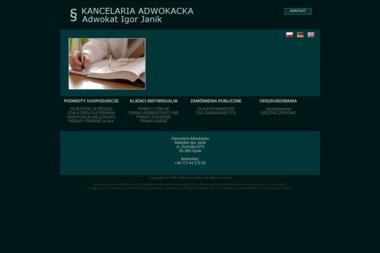 Kacelaria Adwokacka Adwokat Igor Janik - Windykacja Opole