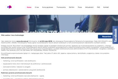 Biuro Tłumaczeń ETO - Tłumacze Oława