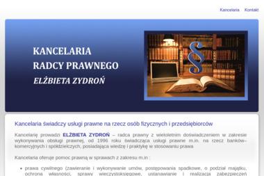 Kancelaria Radcy Prawnego Elżbieta Zydroń - Radca prawny Rzeszów