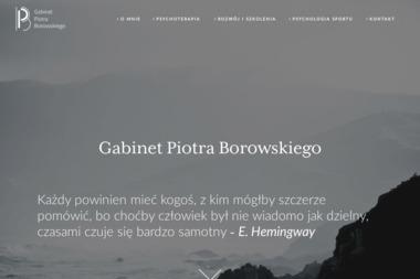 Gabinet Piotra Borowskiego - Psycholog Tomaszów Mazowiecki