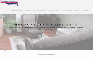 Gabinet Psychoterapii Małgorzata Chojnowska - Psycholog Białystok