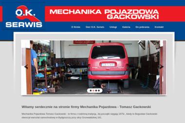 Mechanika Pojazdowa - O.K. Serwis - Mechanik Bydgoszcz