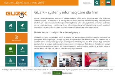 GUZIK – systemy informatyczne - Strona www Konin