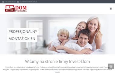 INVEST-DOM - Okna aluminiowe Żywiec