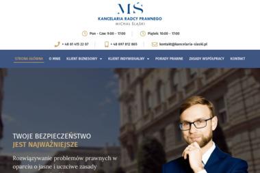 Kancelaria Radcy Prawnego Michał Śląski - Radca prawny Poznań