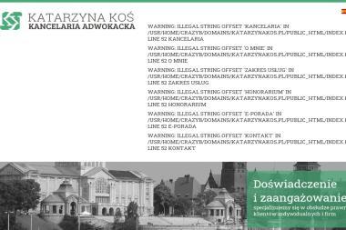 Kancelaria Adwokacka Katarzyna Koś - Windykacja Szczecin