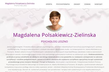 Gabinet Psychologiczny Magdalena Polsakiewicz-Zielinska - Leczenie Odwykowe Leszno