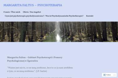 MARGARITA FALTUS – PSYCHOTERAPIA - Psycholog Zgorzelec