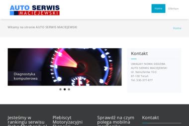 AUTO SERWIS MACIEJEWSKI - Mechanik Toruń
