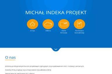 MICHAŁ INDEKA PROJEKT - Projektowanie Instalacji Wod-kan Goczałkowice-Zdrój
