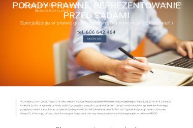 Kancelaria Radcy Prawnego Mariusz Kowalewski - Porady Prawne Szczecin
