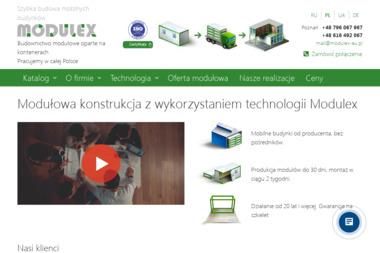 Modulex - Domy modułowe Poznań