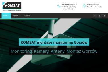 KOMSAT - Kamery do Monitoringu Gorzów Wielkopolski