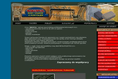 "P.P.U.H ""NIKOPOL"" - Prefabrykaty Betonowe Żuromin"