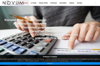 Biuro Doradztwa Finansowo - Gospodarczego NOVUM - Usługi finansowe Gostynin