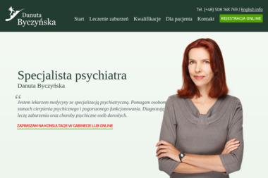 Byczyńska Danuta, Psychiatra Bydgoszcz Gabinet Prywatny - Psycholog Bydgoszcz