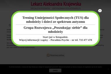 Aleksandra Krajewska  -  specjalista psychiatra - Psycholog Wałbrzych