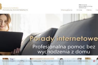 Katarzyna Izdebska - psycholog, psychoterapeuta - Psycholog Legionowo