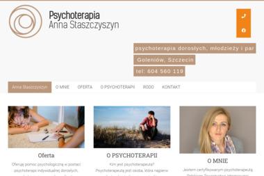 Psycholog Anna Staszczyszyn - Psycholog Goleniów