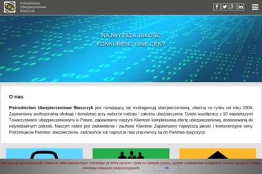 Pośrednictwo Ubezpieczeniowe Błaszczyk - Ubezpieczenie firmy Zielona Góra