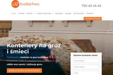 EkoSkipTrans - Piasek Zasypowy Wrocław