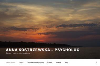 Anna Kostrzewska - psycholog - Psycholog Słubice