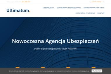 Agencja Ubezpieczeń ULTIMATUM - Ubezpieczenia grupowe Łódź
