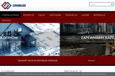Unibud - Konstrukcje Żelbetowe Kożuchów