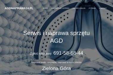 """MAURYCY MAKSYLEWICZ """"NAPRAWA SPRZĘTU AGD"""" - Naprawa pralek Zielona Góra"""