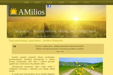 Amilios Prywatny Gabinet Psychiatryczno - Terapeutyczny - Psycholog Białystok