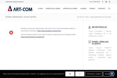ART-COM Sp. z o.o. - Internet, Hosting, Domeny Jaworzno