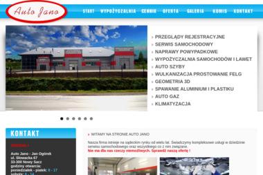 Auto Jano - Auto gaz Nowy Sącz