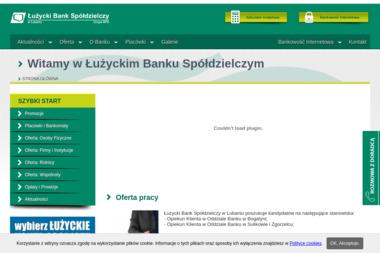 Łużycki Bank Spółdzielczy - Kredyty Hipoteczne Konsolidacyjne Lubań