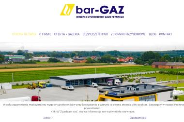 BAR-GAZ - Gaz lpg Wróblew