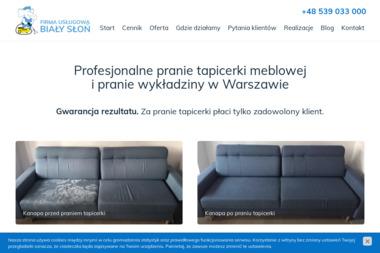 Firma Usługowa Biały Słoń Sp. z o.o. - Pralnia Warszawa