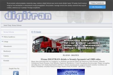 DIGITRAN - Alarmy Łomnica