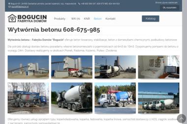 Bogicin - Prefabrykaty Betonowe Garbatka-Letnisko