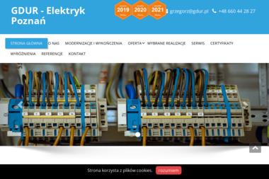 GDUR - Instalatorstwo energetyczne Poznań
