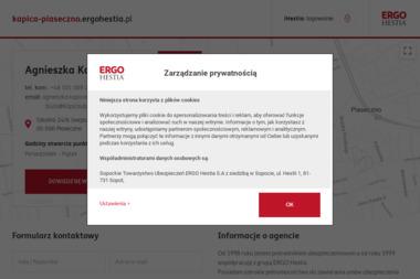 ERGO Hestia Agnieszka Kapica - Ubezpieczenia Firm Piaseczno