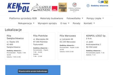 KENPOL - Materiały wykończeniowe Piotrków Trybunalski