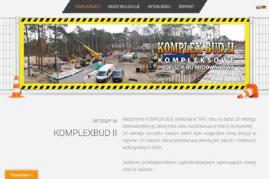 Komplex-Bud II - Zbrojarz Międzywodzie
