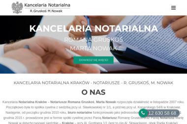 Kancelaria Notarialna Gruskoś, Nowak S.C. - Notariusz Kraków