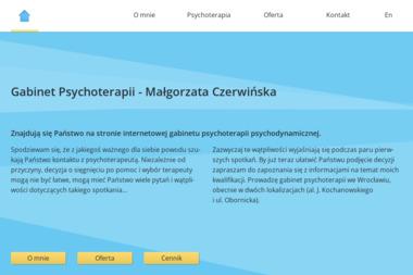 Gabinet Psychoterapii - Małgorzata Czerwińska - Psycholog Świdnica