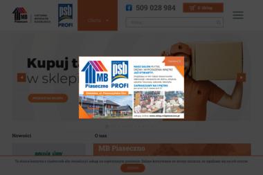 MB Piaseczno Sp. z o.o - Skład budowlany Henryków-Urocze