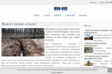 MON-BUD Kowalska Monika - Transport ciężarowy krajowy Żychlin