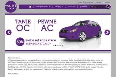MULTI SFERA Sp. z o.o. - Ubezpieczenie firmy Siedlce