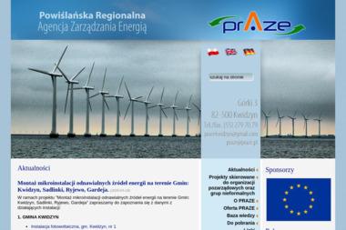 Powiślańska Regionalna Agencja Zarządzania Energią - Zaopatrzenie w energię elektryczną Kwidzyn