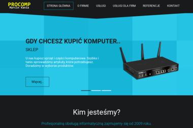 PROCOMP - Naprawa komputerów Wieluń